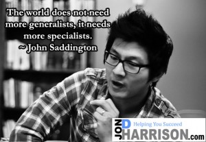 john saddington quote jon d harrison